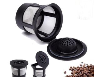 Wholesale 3pcs set Reusable Refillable Coffee Filter Basket K Cups for Keurig Stainless Steel Mesh Compatible Pod System SN1314