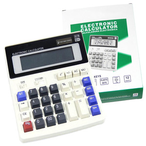 Wholesale Etmakit Hot Sale Big Buttons Office Calculator Large Computer Keys Muti function Computer Battery Calculator