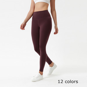 12 Colors Women Girls Long Pants Running Leggings Ladies Casual Yoga Outfits Adult Sportswear Exercise Fitness Wear