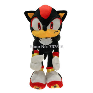 Wholesale New Sonic Series Ultimate Life Form Big Black Shadow the Hedgehog Plush Soft Doll Stuffed Animal Toys Kids Gifts Inch