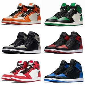 new Jumpman 1 I Basketball Shoes Athletics Sneakers Running Shoe For Kids Women Men Sports Torch Hare Game Royal Pine Green Court on Sale