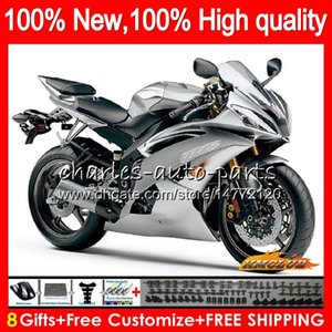 Wholesale r6 silver for sale - Group buy Body For YAMAHA gloss silver YZF R CC CC YZF600 YZF R6 NO YZF YZF R6 YZFR6 Fairing
