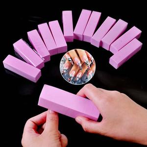 7colors Form Nail Buffers File For UV Gel White Nail File Buffer Block Polish Manicure Pedicure Sanding Nail Art Tool