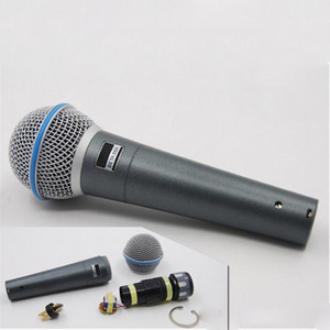 Wholesale High quality version vocal Karaoke microfone dynamic wired handheld microphone