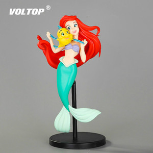 Wholesale Little Mermaid Princess Car Accessories for Girls Ornaments Decoration Cake Decorative Birthday Wedding Party