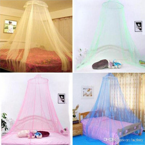 2018 Elegant Round Lace Mosquito Net Bed Netting Canopy Netting Curtain Dome Mosquito Net Home Room on Sale