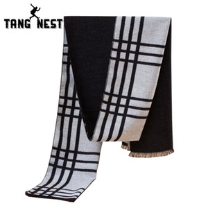 Wholesale TANGNEST Classic Striped Hot Selling Autumn Winter Korean Style Scarf Cool Decoration Stylish Business Scarves PWX180