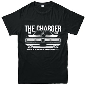 Wholesale Dodge Charger Magnum T Shirt Classic Muscle Car Adult Kids Tee Top