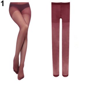 Wholesale Women s Sexy Fashion Candy Color Velvet Transparent Tights Stockings Pantyhose Retail DLP