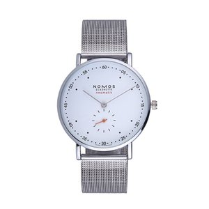 Wholesale Luxury NOMOS Men Watch Ultra Thin Fashion Quartz Watch Men Women Sports Casual Watches Clock Lovers Dwellers wristwatches