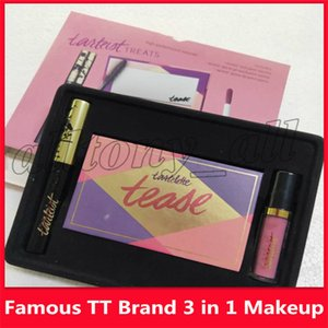 Wholesale 2019 Famous TT Brand Makeup Set in Lip Gloss Eye Mascara Tease eyeshadow palette in cosmetic kit
