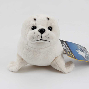 Wholesale 22CM Ty plush toy cute cartoon animal papa seal white sea dog sea lion Dolphin stuffed doll kids girls birthday Christmas gift
