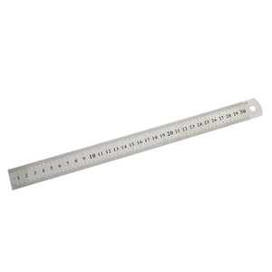 3Pc 15cm 30cm Stainless Steel Straight Ruler Precision Double Sided Learning Office Stationery Drafting Measuring Tool