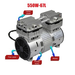 550W  780W non oil air vacuum pump oil-less pump 67L  120L Min 220V