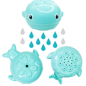 Wholesale Newborn Rain Whale Watering Bath Toys Cute Baby Cartoon Baby Bath Shower Toys Water For Kids Children