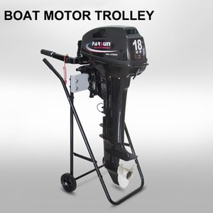 Wholesale Poratble Boat Outboard Motor Trolley Folding Cart Carrier Engine Stand Transport Wheels