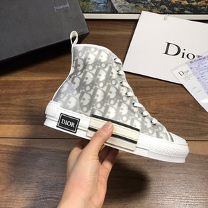 2019 new limited edition custom Men Women printed canvas shoes, fashion versatile Casual high and low shoes, with shoe box delivery 35-45