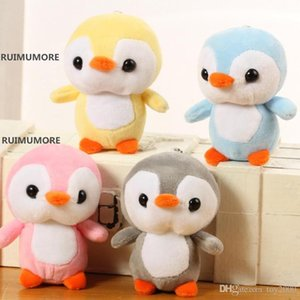 Penguin Stuffed Doll Flannel Marine Stuffed Animals Plush Toy Children Birthday Gift 10cm Cute kids toys