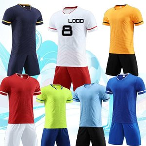 Wholesale 2019 Football clothes training clothes short sleeves clothes processing name and number LOGO free delivery