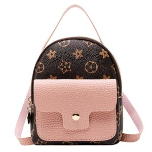 Fashion Casual Leather Shoulder Bag Women Mini Backpack Little Kids Bag Packs Small Mini Backpack Students Bags Cute Small Bags 4