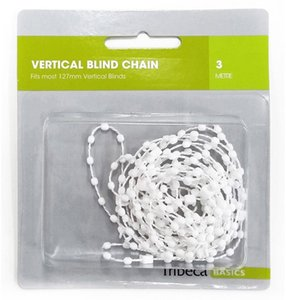 Wholesale 3M White Blinds Bead Chain Roman Shade Vertical Curtain Home Window Accessories Bottom Link Chain shutter Roman shade vertical curtain Parts