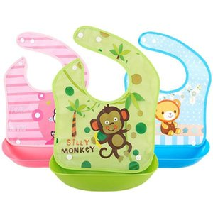 Wholesale Waterproof food soup and rice baby bib and rice bag