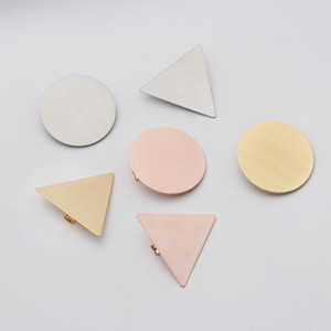 Wholesale Geometric Bun Maker Hair Accessories Metal Modern Stylish Hair Claw Clips Barrette Girls Ladies Styling Accessories