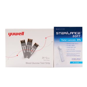 Wholesale yuwell 710 test strips diabetic test strips blood sugar test strips blood meter glucometer Suitable for 710720730740510520 meter