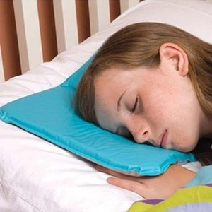 Wholesale Massager Therapy Sleeping Aid Insert Pillows Pad Muscle Relief Summer Ice Pad Mat Cooling Gel Pillow With Color Box BH0952 TQQ