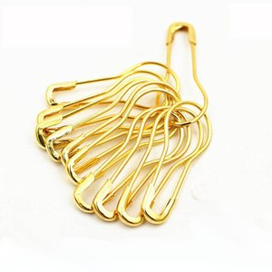 Wholesale 1000pcs mm Gold Safety Pin Pear Shape Hang Tag Pins hanging grain pin tag pins Black Silver Colors