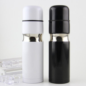 Wholesale thermos cups for sale - Group buy C Classic Logo Vacuum Cup Thermoses Stainless Steel Car Bottle Lipstick Coffee Cup Travel Vacuum Flask