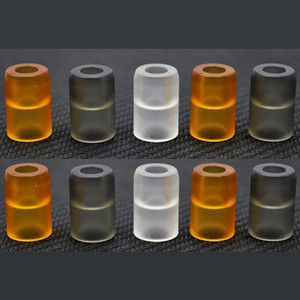 Wholesale Smoant Pasito Pod Drip Tips Acrylic Material Black Clear Yellow Colors high quality ecig Mouthpiece DHL Free