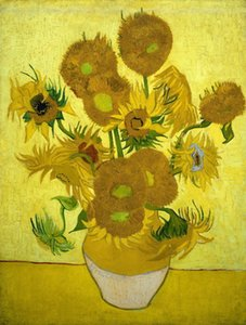 Wholesale painting sunflowers for sale - Group buy Vincent Van Gogh sunflowers Wall Art Home Decor Handpainted HD Print Oil Painting On Canvas Wall Art Canvas Pictures