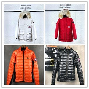 MYSTIQUE Women's Winter Parka Coat Canada Brand Goose Lady Long Full Fur Hoodies Jacket OVO Hybridge Chilliwack Expedition Outdoor coat