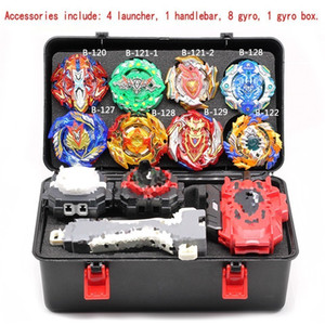 Wholesale beyblade toys sale for sale - Group buy Beyblade Burst Set Tool Box Arena Toys Sale Bey Blade B B Launcher Bayblade Bable Drain Fafnir Phoenix Blayblade Y200703
