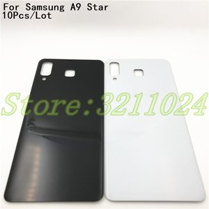 Wholesale 10Pcs Good quality New For Samsung Galaxy A9 Star G8850 Back Battery Cover Rear Door Panel Glass Housing Case With Logo