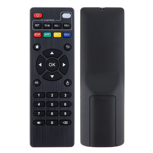 Universal IR Replacement Remote Control Support 2*3A Battery for Android TV Box TX3 Mini TX92 TX28 etc.