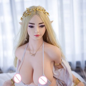Elf ear girl 4ft 7in 140cm big breast A cup Japanese 18 sex doll for Male masturbation