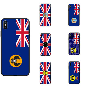 South Australia SA State Flag Theme Soft TPU Phone Cases Cover Image Logo For iPhone 6 7 8 S XR X Plus
