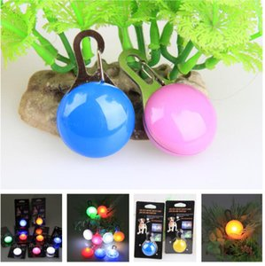 Wholesale dog tag pet charm dog flash LED light dog pendant light tag spot factory direct mixed delivery