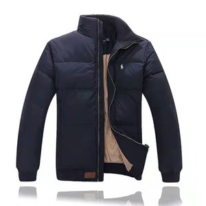 Ralph Polo Lauren Men Winter Jackets Classic Luxury Mens Pony Brand Down Jacket High End Embroidery Pony Logo Coat Outdoor Warm Jacket Top on Sale