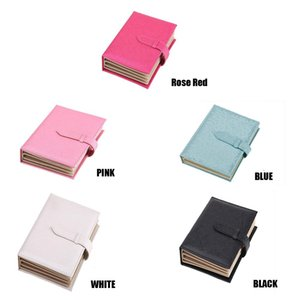 Wholesale Fashion PU Leather Jewelry Box Book Design Earring Gift Boxes For Jewellery Organizer Packaging Porte Bijoux