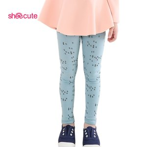 Wholesale New Arrive Candy Dot Girls Leggings Toddler Classic Leggings 2-13y Children Trousers Kids Leggings Girl Pants