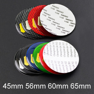 4 pcs 45mm 56mm 60mm 65mm Car Wheel Center Cap Decal Stickers Car Styling Logo Emblem for BBS 18