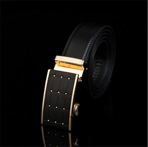 Wholesale Manufacturer direct selling men leather leather belt automatic buckle belt casual belt export