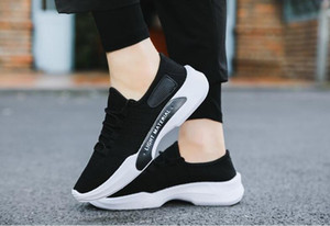 New Fashion korean leisure men shoes spring men footwear autumn net cloth men flat shoes breathable casual men's flats