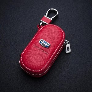 Wholesale Leather Car Key bags Cover Key Case for volkswagen Mitsubishi honda civic kia bmw audi a4 b8 mercedes benz for Chevrolet Nissan