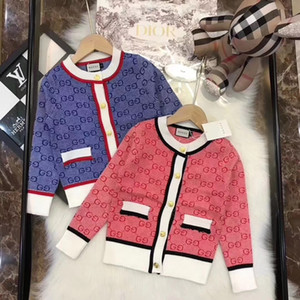 Baby Boys Sweaters 2020 Kids Sweater For Children O-NECK Baby Clothes Knit Sweater Cotton Toddler Cardigans Infantil