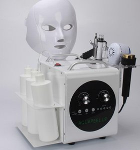 Wholesale 5 In Professional Hydradermabrasion Machine Aqua Jet Peel Water Dermabrasion Skin Care Oxygen Hydra Facial Machine Beauty Instrument