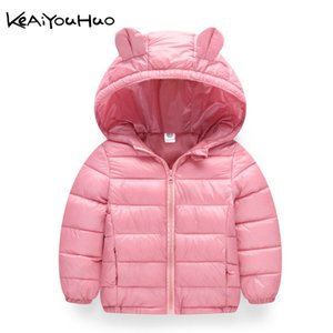 2019 Autumn Winter Warm Jackets For Girls Coats For Boys Jackets Baby Girls Jackets Kids Hooded Outerwear Coat Children on Sale
